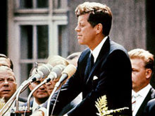 John F. Kennedy at Berlin