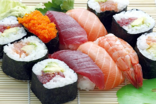 Impress your Valentine's Day date by learning how to make sushi.