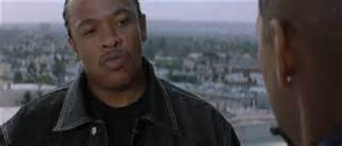 Dr. Dre helped Denzel Washington (Alonzo) carry out his crimes as Detective Paul of the Los Angeles Police Department.