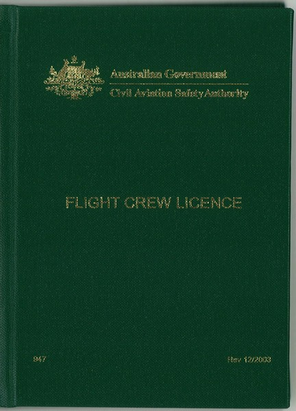 CASA Australia flight crew licence, this document will tell you and the rest of the world what aircraft  you can fly, how you may fly them,and subject to what limitations