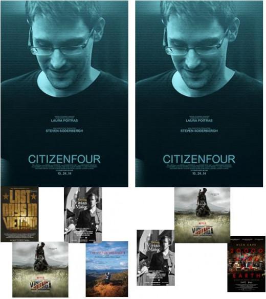 Oscars vs BAFTA 2015 - Best Documentary