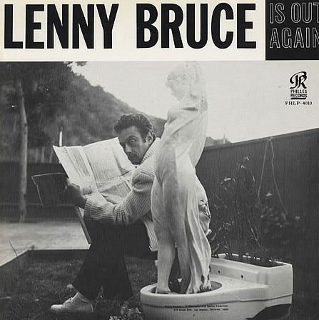 "Lenny Bruce ""Is Out Again"" Philles Records PHLP 4010 12"" Record"