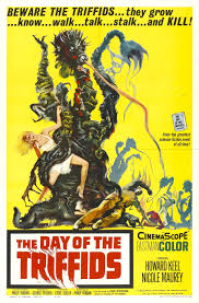 Promo poster for dystopian film Day of the Triffids