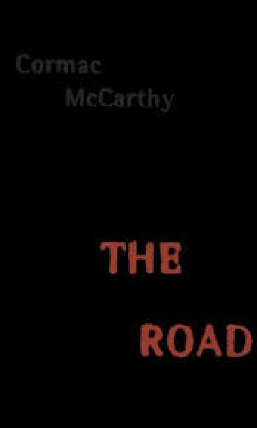 The bleak cover of Cormac McCarthys' great novel, The Road.