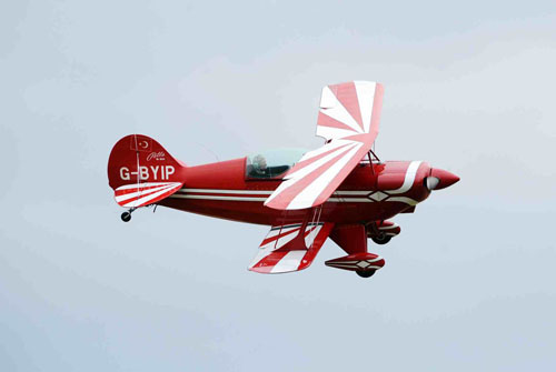 Pitts Special high performance aircraft using for aerobatic display at airshow