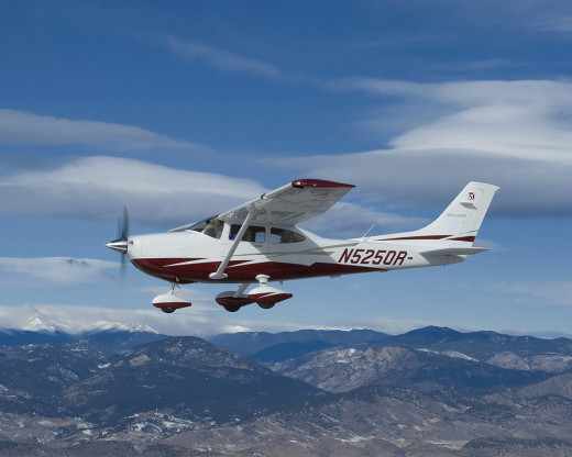 Cessna 182 Skylane is an American four-seat, single-engined light airplane, built by Cessna of Wichita, Kansas