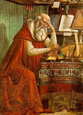 St. Jerome and The Vulgate that bears his name.