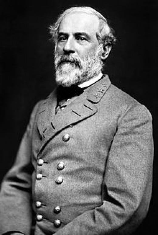 Confederate General Robert E. Lee of Virginia