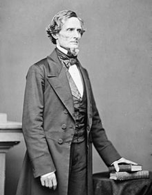 Jefferson Davis, President of the Confederate States.