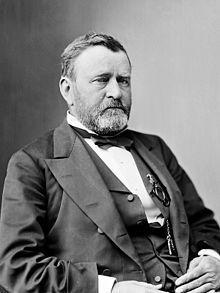 US General, later President Ulysses S. Grant