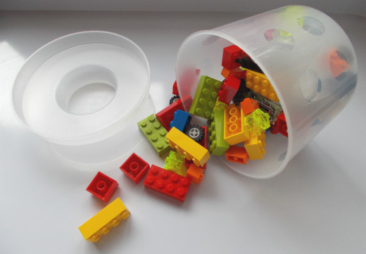 Lego bricks are available to pick at Lego Stores. The bricks are great for a Master Builder game.