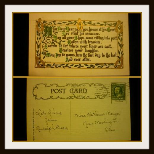 1910 Postcard Dean-Berger