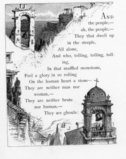 """Edgar Allen Poe """"The Bells"""" Text"""