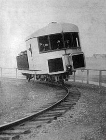 A clever project that used a vehicle running on a single rail and balanced by gyroscope. Initially backed by the British Army, it was incredibly popular at its public unveiling in 1910 but ultimately failed to gain the investment needed.
