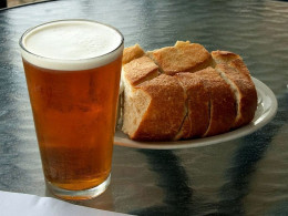 Beer AND bread can both be made at home. If you don't have time to make the beer, you can at least make the bread.