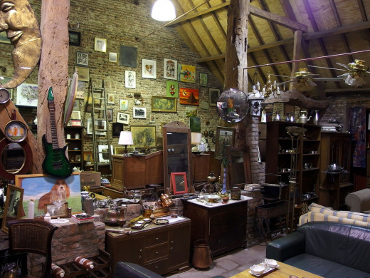 Second-hand shop.