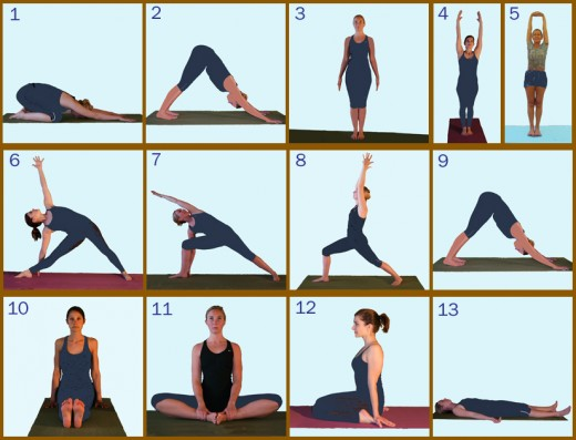 Day One Yoga Poses