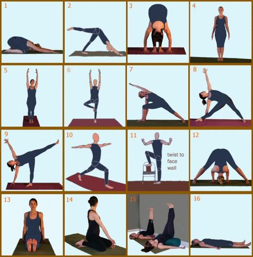 Day 2 Yoga Poses