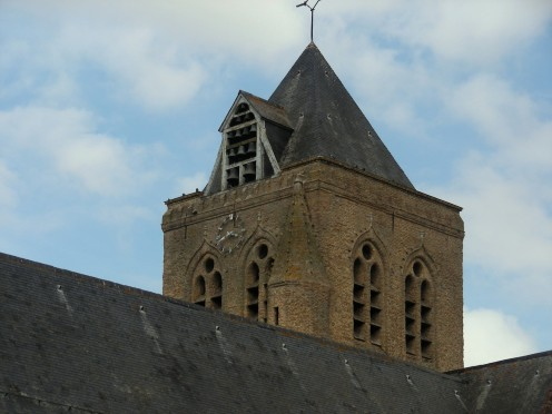 Bell-tower, church of Saint-Folquin, Esquelbecq