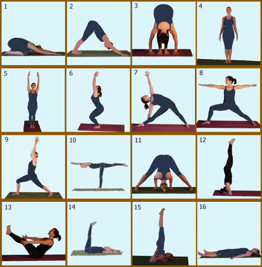 Day 3 Yoga Poses