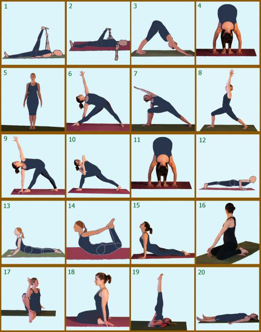 Day 4 Yoga Poses