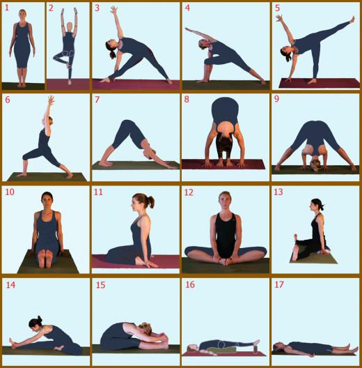 Day 5 Yoga Poses