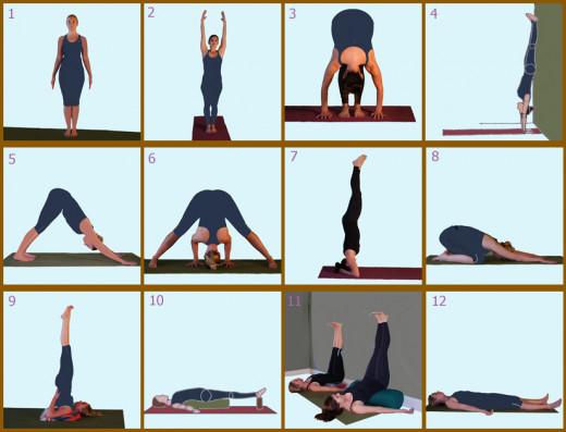 Day 6 Yoga Poses