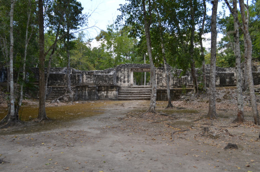 Structure at Balamku