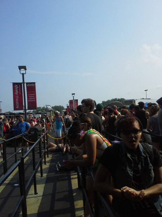 My front of the line experience