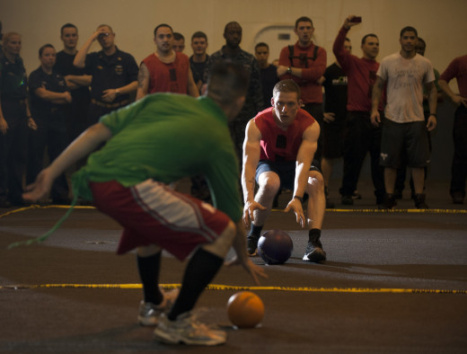 Playing dodgeball can help anyone get stronger without even realizing it.