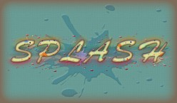 Create Pastel Colored Splash Text Effect with Custom Shapes in Adobe Photoshop