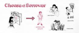 Choose good borrowers
