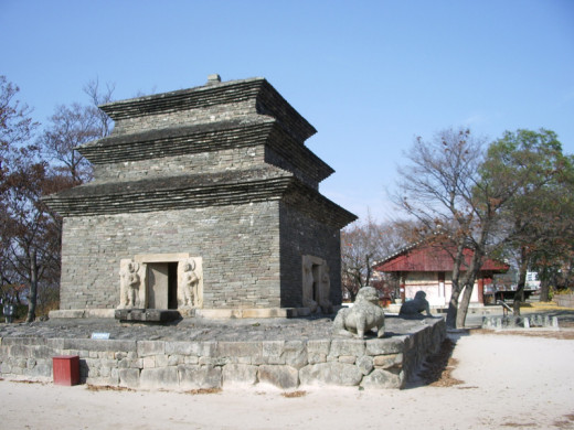 Bunhwangsa pagoda, Gyeongju, South Korea.