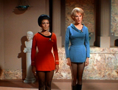 Number of females required to man a starship: 2.