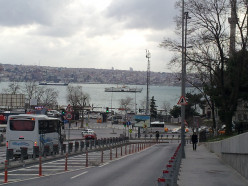The walk towards Kabataş. The Bosphorous and beyond, the Asian side of Istanbul
