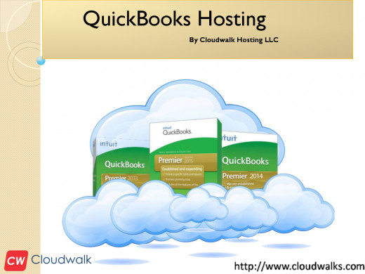 QuickBooks hosting for the Accounting people so that the CPAs or the bookkeepers can access their QuickBooks files
