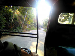 Philippines tricycle ride