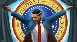 Did President Obama Climb Up On Calvary's Cross And Died For Anyone?