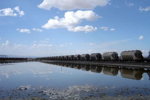 Soda Ash train, Lake Magadi, Kajiado County
