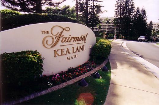 Fairmont's Kea Lani resort in Wailea