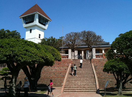 Fort Zeelandia/Fort Anping, Tainan, Taiwan