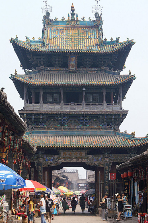 Market Tower, Pingyao