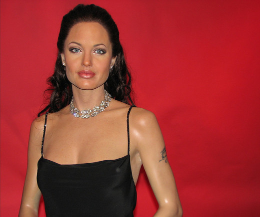 Movie star Angelina Jolie