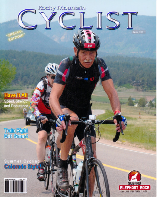 Joe in the Elephant Rock Cycling Festival in Castle Rock, Colorado 2011