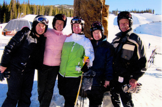 2011 with Shannon, Kim, Mary, Jessica and Joe Copper Mountain, Colorado