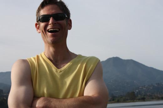 Mannequin Cut-Out Impersonating Me Near Mount Tamalpais