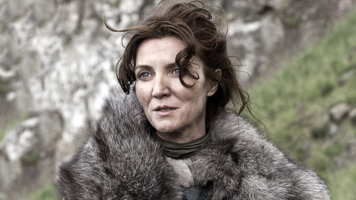 Catelyn Stark as portrayed by Michelle Fairley in HBO's adaptation of Game of Thrones.