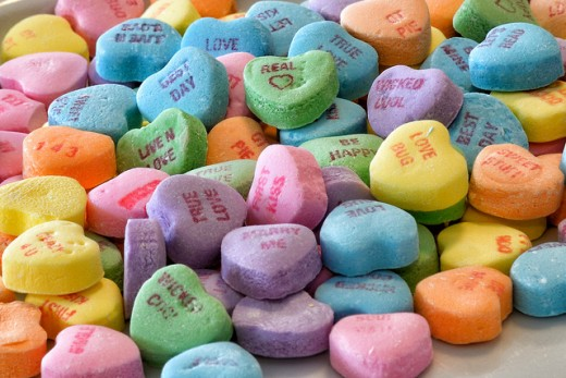 Remember these candy hearts?