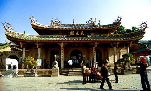 Heavenly King Hall, Xiamen, China.