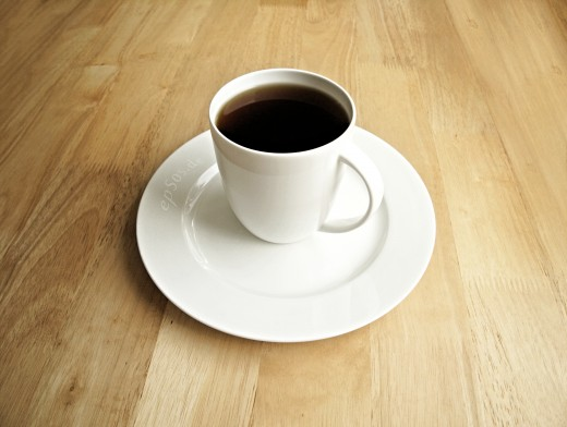 Coffee is one prohibited substance during the fruit flush diet.